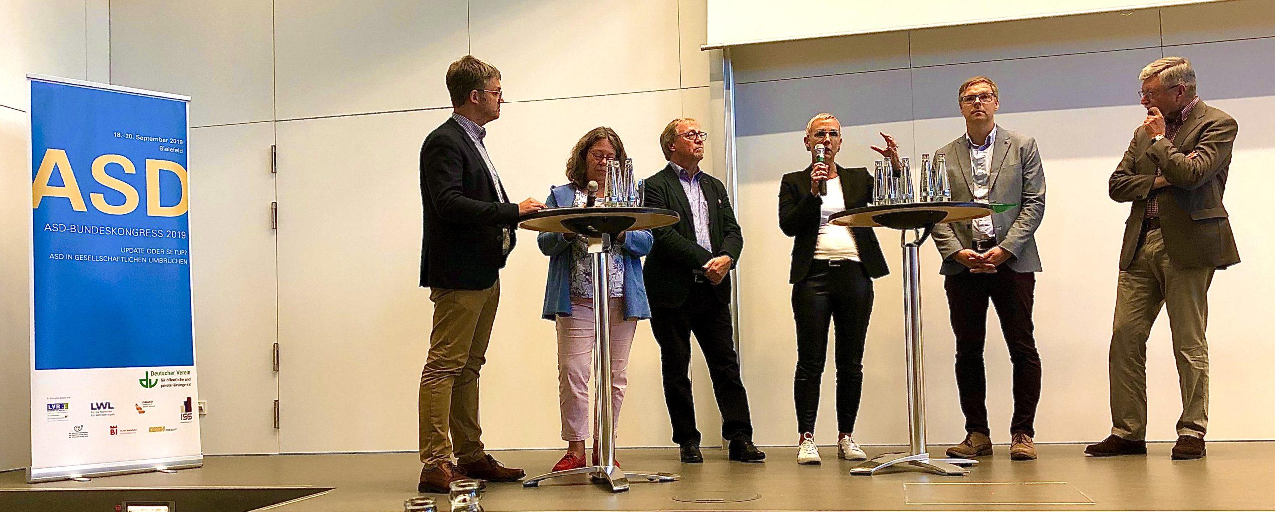 ASD Bundeskongress Abschlussdiskussion